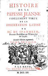 Histoire de la papesse Jeanne: Volume1