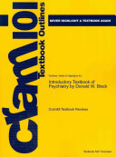 Outlines and Highlights for Introductory Textbook of Psychiatry by Donald W Black  Isbn PDF