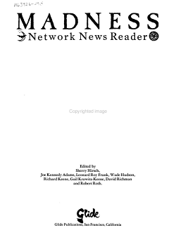Madness Network News Reader PDF