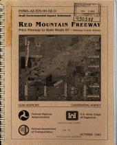 Red Mountain Freeway, Price Freeway to State Route 87, Maricopa County: Environmental Impact Statement