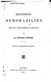 Xenophons Memorabilien für den schulgebrauch