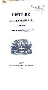 Histoire de l'imprimerie à Dieppe