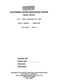 California Water Resources Center PDF