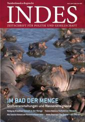 Im Bad der Menge: Indes 2012 Jg. 1, Ausgabe 3