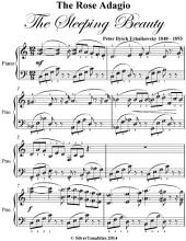 Rose Adagio the Sleeping Beauty - Easy Intermediate Piano Sheet Music