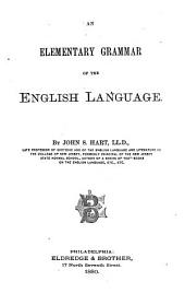 An Elementary Grammar of the English Language