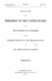 The Abridgment: Containing Messages of the President of the United States to the Two Houses of Congress with Reports of Departments and Selections from Accompanying Papers, Part 2