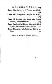 L'esprit des usages et des coutumes des différents peuples: Volume1