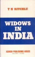 Widows in India PDF