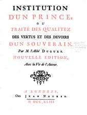 Institution d'un prince: Volume 3