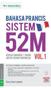 Bahasa Prancis Sistem 52M Vol. 1
