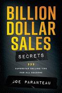 Billion Dollar Sales Secrets PDF