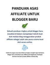 Panduan Asas Affiliate Dan Tips SEO: Malay