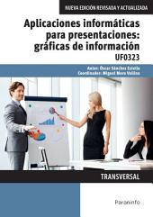 UF0323 - Aplicaciones informáticas para presentaciones: gráficas de información
