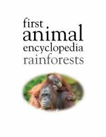 First Animal Encyclopedia Rainforests PDF