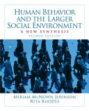 Human Behavior and the Larger Social Environment PDF