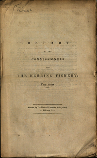 Report by the Commissioners for the Herring Fishery