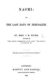 Naomi: or, The last days of Jerusalem
