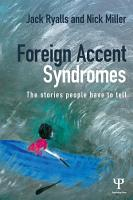 Foreign Accent Syndromes PDF