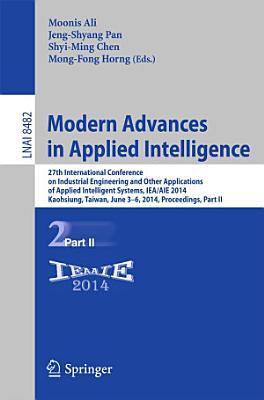 Modern Advances in Applied Intelligence
