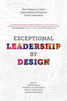 Exceptional Leadership by Design PDF