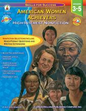 American Women Achievers  Grades 3   5 PDF