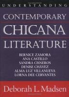 Understanding Contemporary Chicana Literature PDF