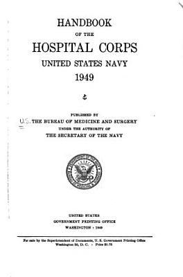 Handbook of the Hospital Corps PDF