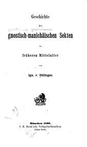 Beiträge zur Sektengeschichte des Mittelalters: Bände 1-2