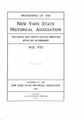 Proceedings: Volume 8