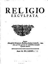 Religio exculpata