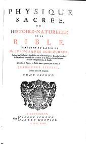 Physique sacrée ou Histoire-naturelle de la Bible