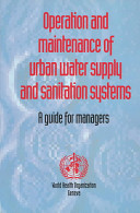 Operation and Maintenance of Urban Water Supply and Sanitation Systems PDF