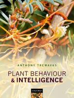 Plant Behaviour and Intelligence PDF