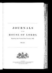 Journals of the House of Lords: Volume 90
