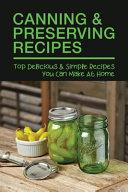 Canning   Preserving Recipes PDF
