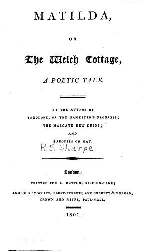 Matilda  Or  The Wech Cottage