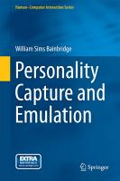 Personality Capture and Emulation PDF