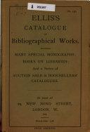 Catalogue of Rare Books PDF