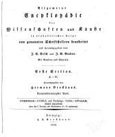 Allgemeine Encyclop  die der Wissenschaften und K  nste in alphabeischer Folge PDF
