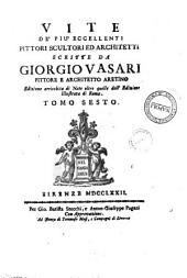 Vite de Piu Eccellenti PIttori Sculoreied da Giorgio Vasari