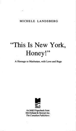 This Is New York Honey