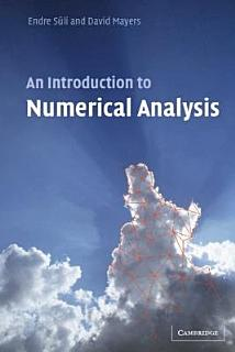 An Introduction to Numerical Analysis Book