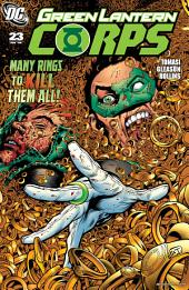 Green Lantern Corps (2006-) #23
