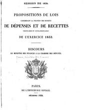 Projet de loi ... portant fixation du budget général de l'éxercice