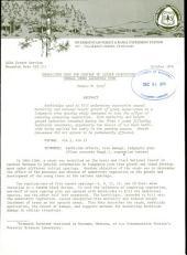 Herbicides used for control of lesser vegetation damage young lodgepole pine