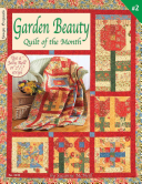 Garden Beauty - Quilt of the Month