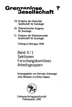 Verhandlungen des     Kongresses der Deutschen Gesellschaft f  r Soziologie in     PDF