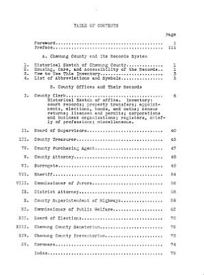 Inventory of the County Archives of New York State  exclusive of the Five Counties of New York City  PDF