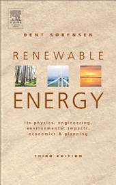 Renewable Energy: Edition 3